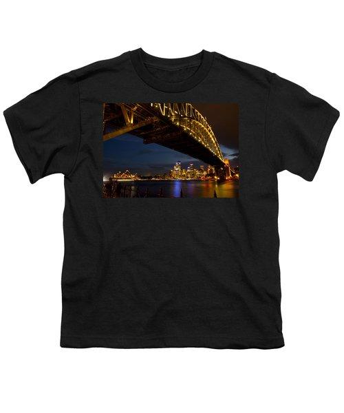 Youth T-Shirt featuring the photograph Sydney Harbour Bridge by Miroslava Jurcik