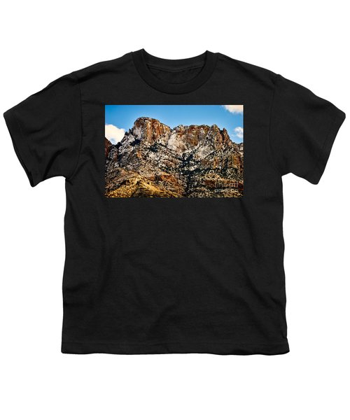 Youth T-Shirt featuring the photograph Table Mountain In Winter 42 by Mark Myhaver