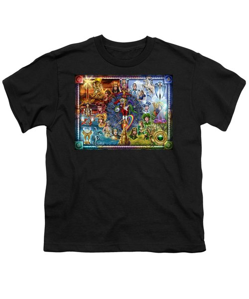 Tarot Of Dreams Youth T-Shirt by Ciro Marchetti