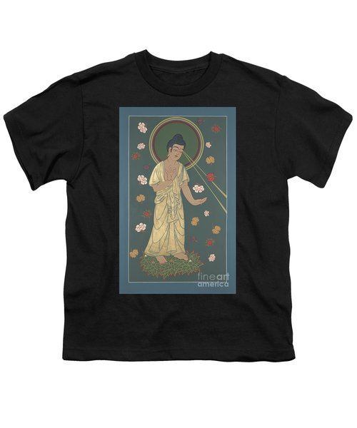 The Amitabha Buddha Descending 247 Youth T-Shirt