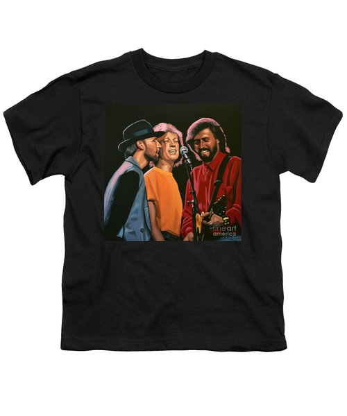 The Bee Gees Youth T-Shirt by Paul Meijering
