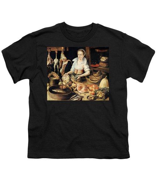 The Cook Youth T-Shirt by Pieter Cornelisz van Rijck