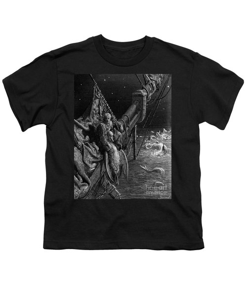 The Mariner Gazes On The Serpents In The Ocean Youth T-Shirt