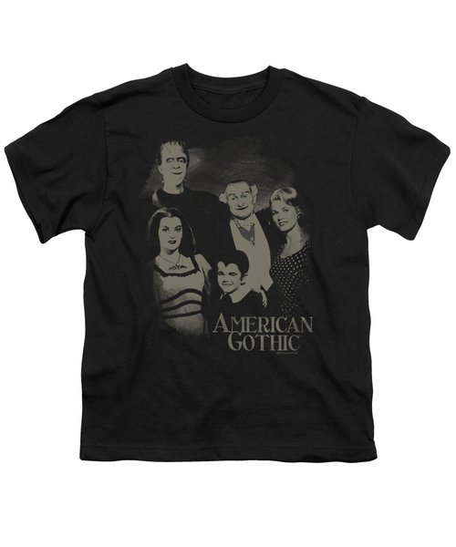 The Munsters - American Gothic Youth T-Shirt