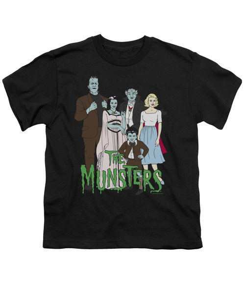 The Munsters - The Family Youth T-Shirt