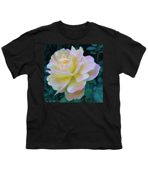 The Rose For A Rose Is A Rose Is A Rose Youth T-Shirt