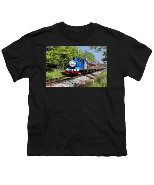 Thomas Visits The Cvnp Youth T-Shirt