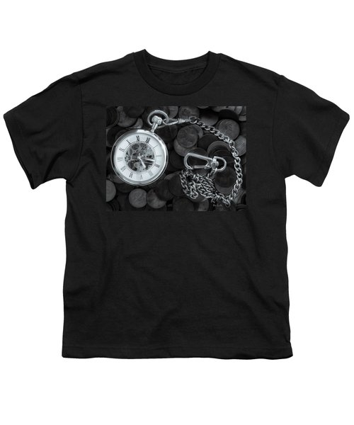 Time And Money Youth T-Shirt