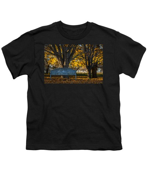 Youth T-Shirt featuring the photograph Under The Tree by Sebastian Musial