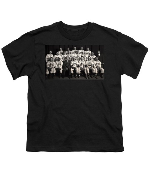 University Of Michigan - 1953 College Baseball National Champion Youth T-Shirt by Mountain Dreams