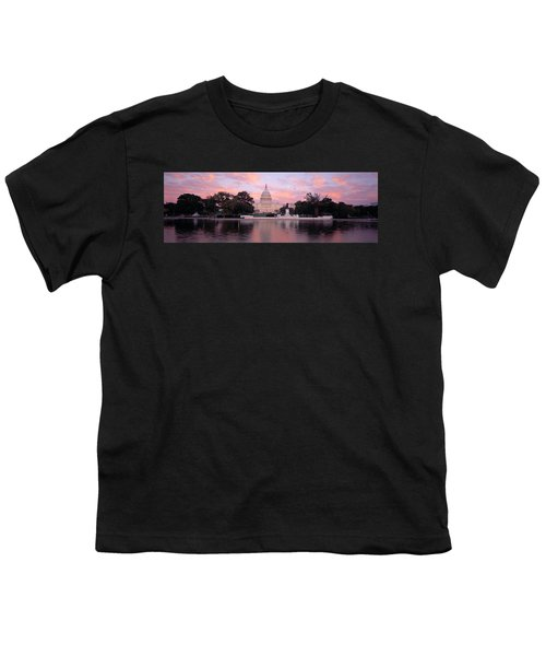 Us Capitol Washington Dc Youth T-Shirt
