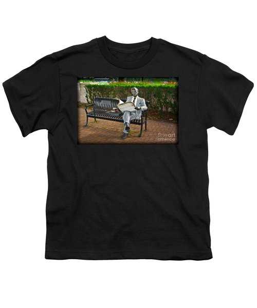Youth T-Shirt featuring the photograph Waiting by Gary Keesler