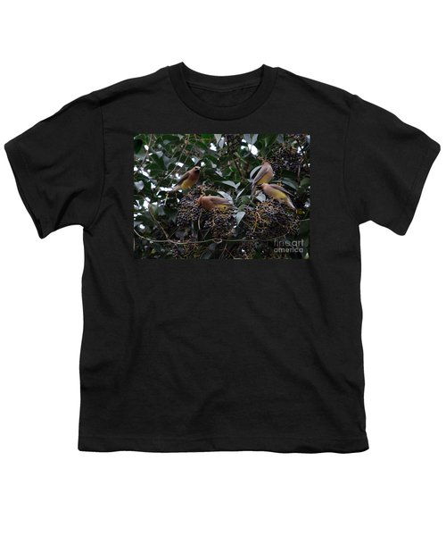 Wax Wings Supper  Youth T-Shirt by Skip Willits