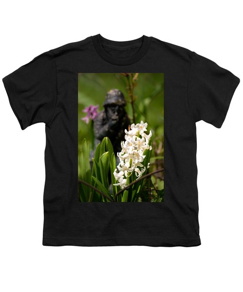 White Hyacinth In The Garden Youth T-Shirt