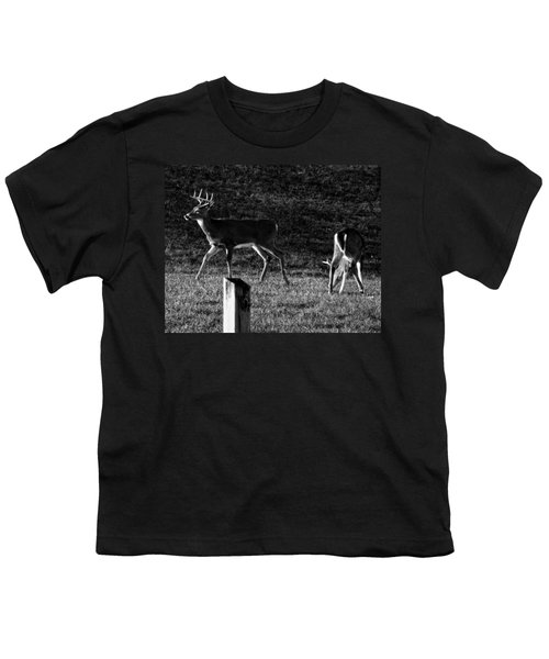 White Tailed Deer Youth T-Shirt