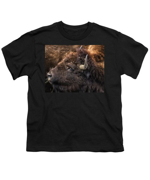 Wild Eye - Bison - Yellowstone Youth T-Shirt