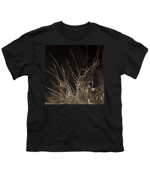 Youth T-Shirt featuring the photograph Winter Grass 2 by Yulia Kazansky