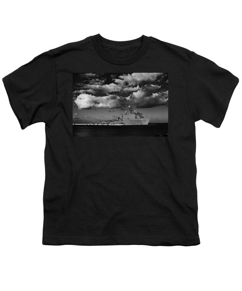 Uss Fort Mchenry Youth T-Shirt