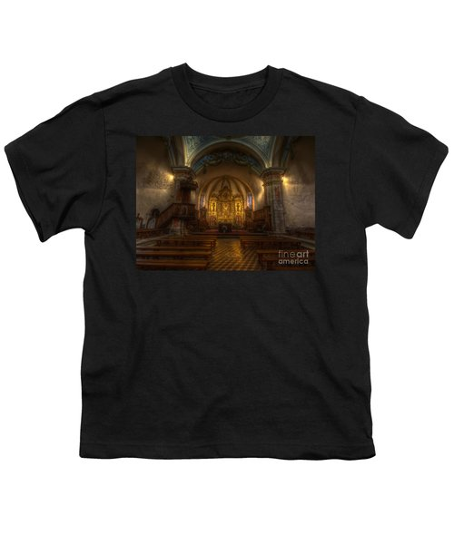 Baroque Church In Savoire France Youth T-Shirt