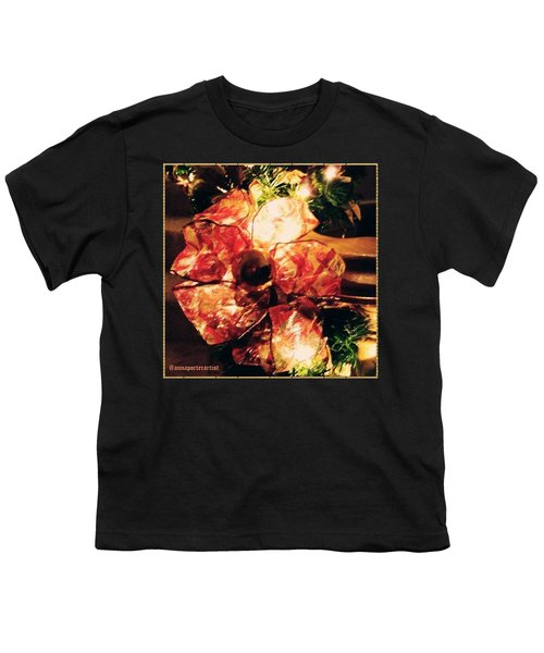 Beribboned #christmas #ribbon Youth T-Shirt