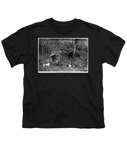 Bird Shooting, 1886 Youth T-Shirt by Granger