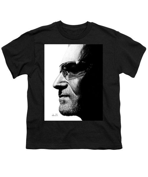 Bono - Half The Man Youth T-Shirt by Kayleigh Semeniuk