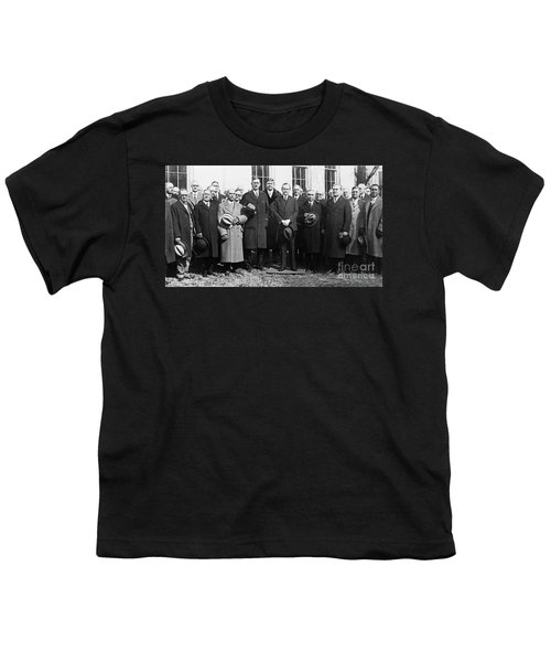 Coolidge: Freemasons, 1929 Youth T-Shirt by Granger