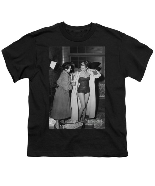 Grace Kelly  Youth T-Shirt by Photo Researchers