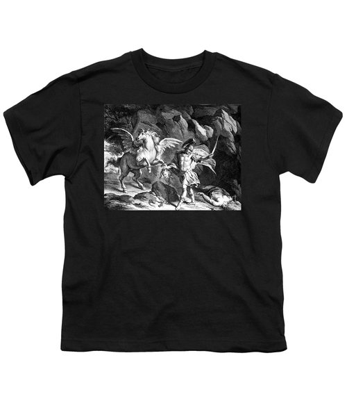Mythology: Perseus Youth T-Shirt by Granger