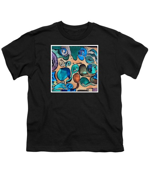 Circles Of Colors.... Youth T-Shirt