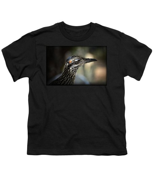 Portrait Of A Roadrunner  Youth T-Shirt by Saija  Lehtonen