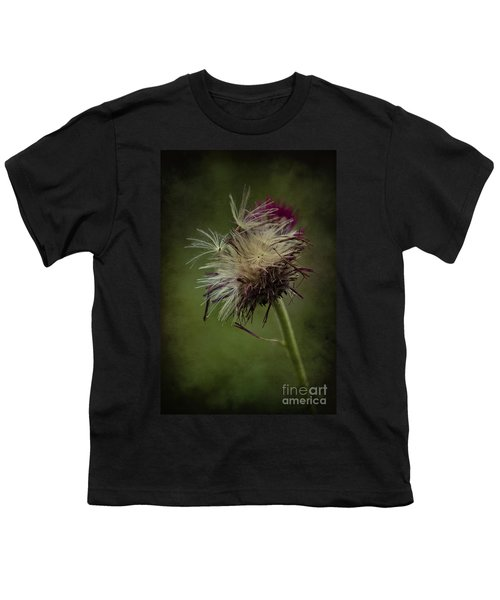 Youth T-Shirt featuring the photograph Ready To Fly Away... by Clare Bambers