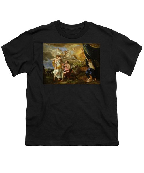 Selene And Endymion Youth T-Shirt by Nicolas Poussin