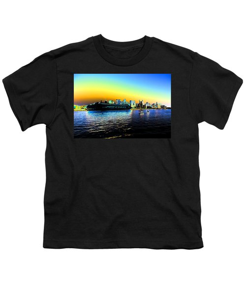 Sydney In Color Youth T-Shirt by Douglas Barnard