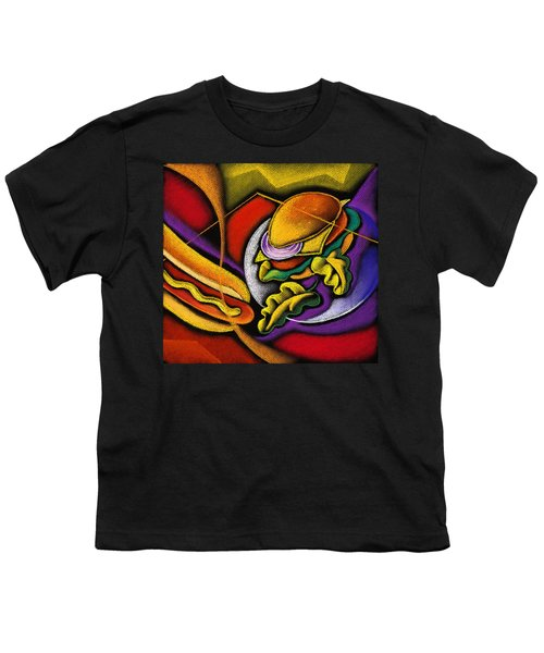 Lunchtime Youth T-Shirt by Leon Zernitsky