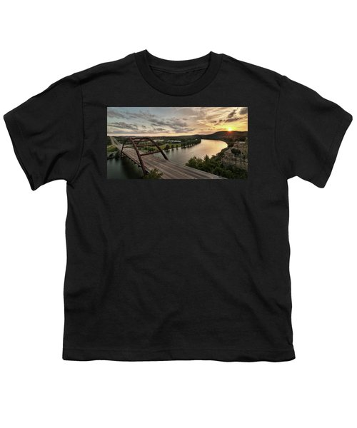 360 Bridge Sunset Youth T-Shirt
