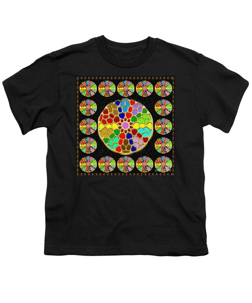 Acrylic Painted Round Colorful Jewel Patterns By Navinjoshi At Fineartamerica.com   Also Available O Youth T-Shirt