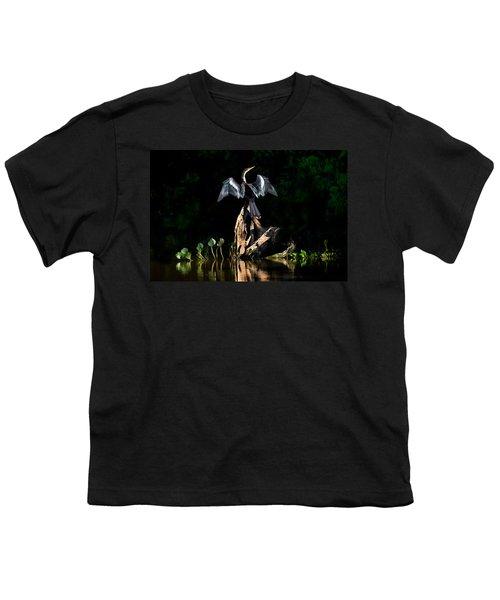 Anhinga Anhinga Anhinga, Pantanal Youth T-Shirt