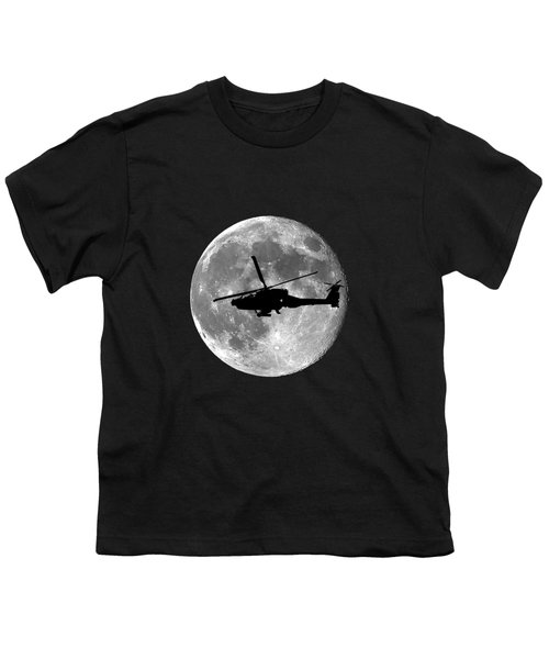 Apache Moon .png Youth T-Shirt by Al Powell Photography USA