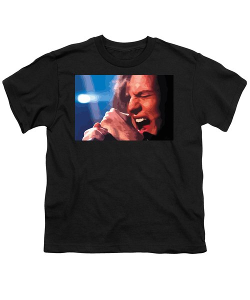 Eddie Vedder Youth T-Shirt by Gordon Dean II