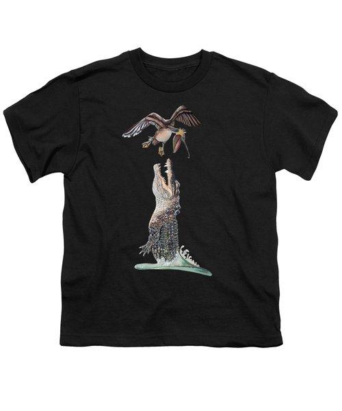 Florida Gator Youth T-Shirt by Jennifer Rogers