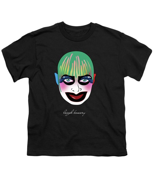 Leigh Bowery 5 Youth T-Shirt by Mark Ashkenazi