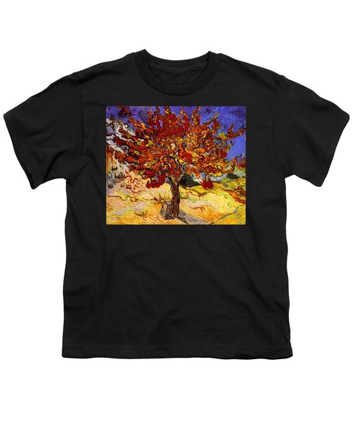Youth T-Shirt featuring the painting Mulberry Tree by Van Gogh