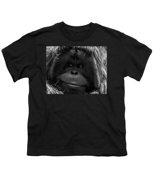Orangutan Youth T-Shirt by Martin Newman