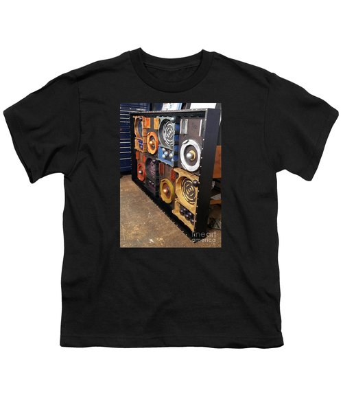 Youth T-Shirt featuring the painting Prodigy  by James Lanigan Thompson MFA