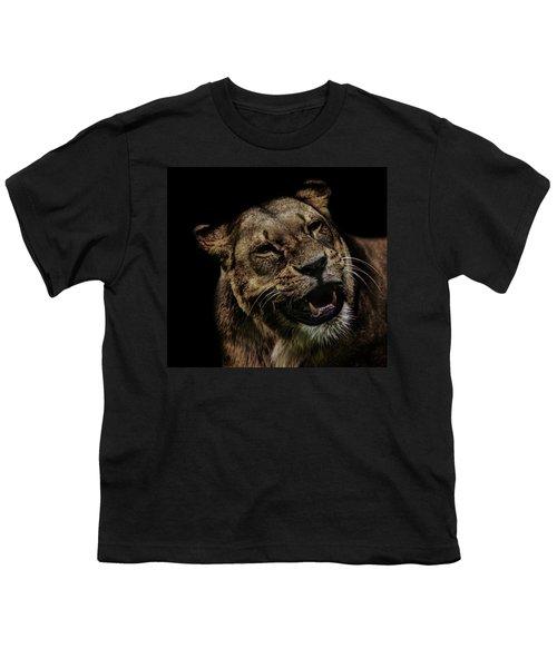 Orangutan Smile Youth T-Shirt by Martin Newman