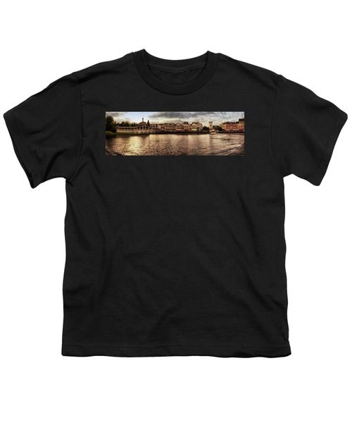Sunset On The Boardwalk Walt Disney World Mp Youth T-Shirt