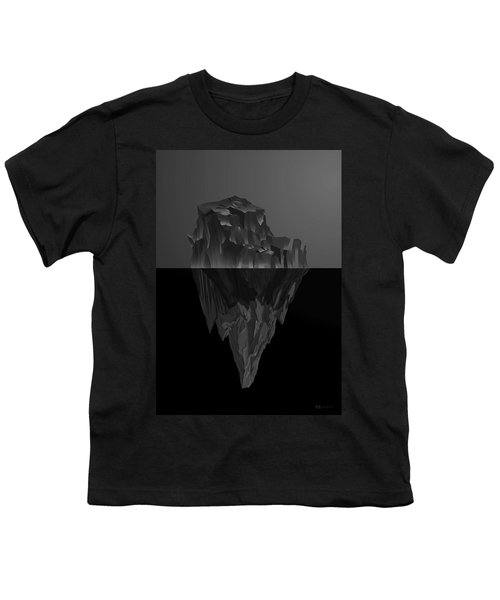 The Black Iceberg Youth T-Shirt by Serge Averbukh