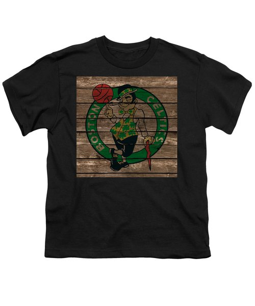 The Boston Celtics 1e Youth T-Shirt by Brian Reaves