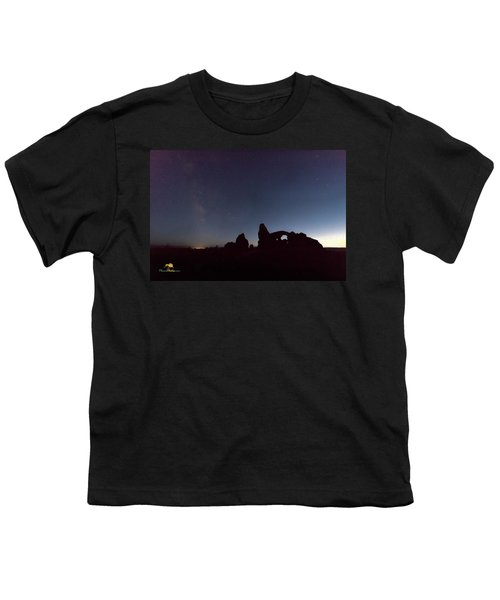 Youth T-Shirt featuring the photograph The Milky Way by Jim Thompson